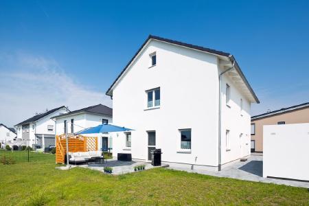 Einfamilienhaus Variant Gartenansicht