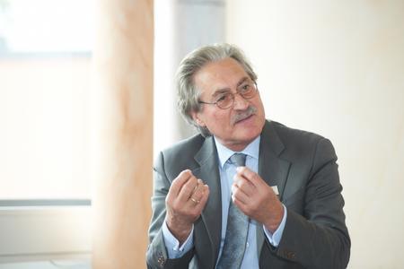 Dr. H. Werner Utz, Vorstandsvorsitzender der Uzin Utz AG