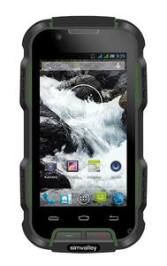 simvalley MOBILE Outdoor-Smartphone SPT-900, IP67, Android 4.2, 4''