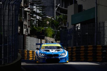 Marco Wittmann, BMW M6 GT3, FIST - Team AAI, FIA GT World Cup, Macau