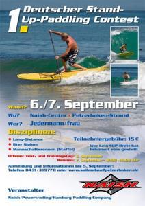 1. Deutscher Stand-Up-Paddling Contest 7. September