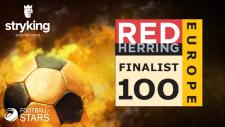Stryking als Finalist beim 2017 Red Herring Top 100 Europe Award