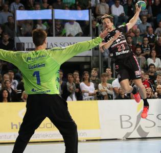 HC Erlangen: Ole Rahmel mit 11 Treffern erfolgreichster Torschütze (Foto: hl-studios, Erlangen)