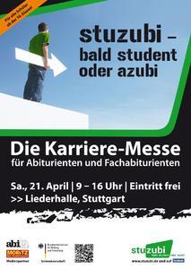 Plakat Stuzubi Stuttgart
