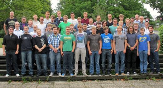 41 ehemalige Schüler der Berufsbildenden Schulen Osnabrück-Brinkstraße und Bersenbrück nehmen am kompakten Mathekurs teil