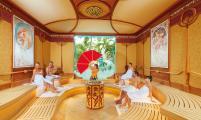 Sauna Art Nouveau in der Spa  und Saunawelt PALAIS VITAL