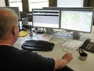 Minister Pistorius informiert sich über die Automatisierte Waldbrandüberwachung