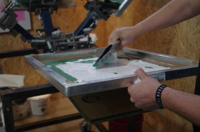 Siebdruck-DIY-Workshop