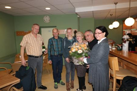 von links nach rechts: Martin Fiebig, Holger Kolb, Eva Ronkainen-Kolb, Silvia Sabolotto, Cengiz Kilinc, Jutta Schmidt