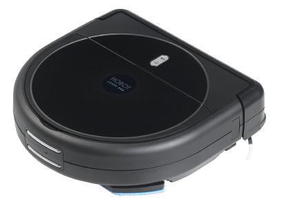 Sichler Haushaltsgeräte Multiroom-Saug- und Wisch-Roboter PCR-8800.app mit WLAN, App und 4-Phasen-Reinigung / Bild: PEARL.GmbH / www.pearl.de