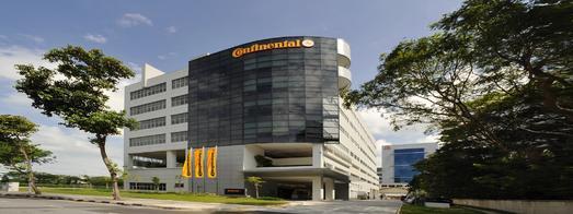 Das Continental Forschungs- und Entwicklungszentrum in Singapur