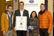 "Erster ""Thermencheck.com Award"" ging an Heiltherme Bad Waltersdorf"