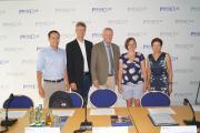 Martin Hagen Prof. Michael Piazolo, Prof. Jürgen Vocke, Susanne Kurz, Gudrun Brendel Fischer / Foto BJV
