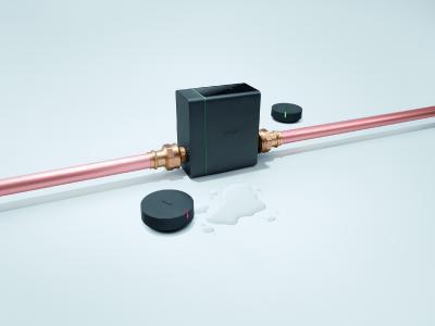 Wohnqualität und Sicherheit mit hansgrohe Pontos Wassermanagementsystem