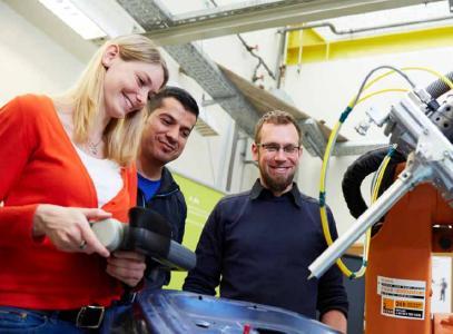 Weiterqualifizierung für Ingenieure - berufsbegleitend zum Master / Foto: Hochschule Darmstadt