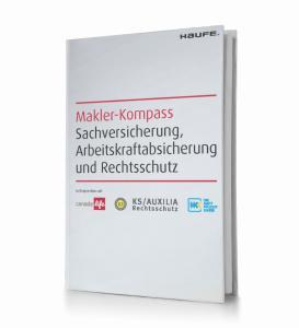 Erleichtert den Arbeitsalltag: der Makler-Kompass im handlichen Taschenformat herausgegeben von der Haftpflichtkasse, Canada Life und KS/AUXILIA