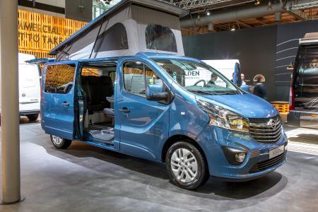 Opel Vivaro Free Camper