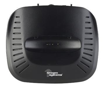 newgen medicals Kinnbügel-Kopfhörer mit Bluetooth 4.1, 15 m, 100 dB, 19 Std. Betrieb