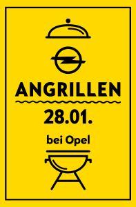Opel Flat und Chance auf einen Vier-Tages-Trip nach Lappland: Am 28. Januar laden die Opel-Händler wieder zum Angrillen in ihre Autohäuser ein