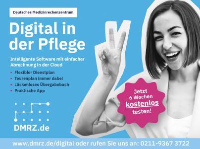 Mein Pflegedienst ist digital :)