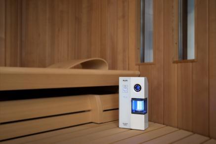 the new dimension of dry salt inhalation microsalt saltprox from klafs klafs gmbh co kg. Black Bedroom Furniture Sets. Home Design Ideas