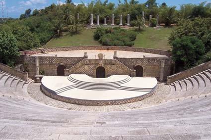 Amphietheater in Altos de Chavon