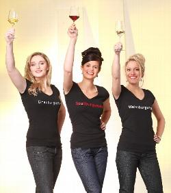 """Pinot Trio"" am DWI-Stand"