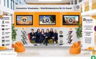 """Hier ist der virtuelle Messestand von Convention Wiesbaden auf der """"Meet Germany goes virtual"""" zu sehen."""