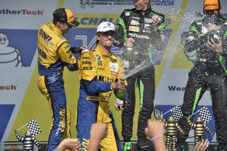 Jens Klingmann, Jesse Krohn, Turner Motorsport, VIR, Podium