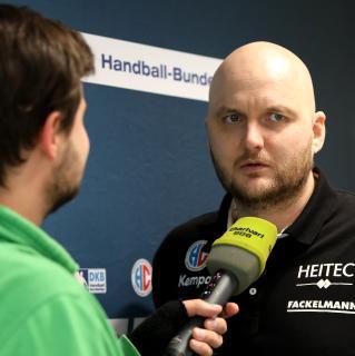HC Erlangen-Trainer Eyjolfsson: Wir werden 60 Minuten lang kämpfen (Foto: HJKrieg, Erlangen)