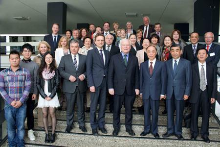 Ein gelungener Austausch der China-Akteure an der Hochschule Osnabrück mit den Delegationen aus China und des niedersächsischen Landtages