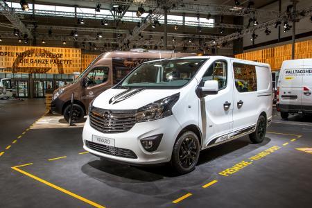 Weißer Riese: Der neue Opel Vivaro Sport mit viel Platz und einem extra dynamischen Look