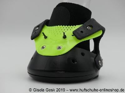 Gisela Gesk   Der Floating Boot Schwarz Gelb.
