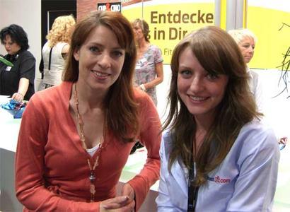 Mrs. Sportschau im Fitness .com Interview