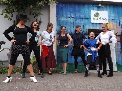 Flamenco in Birkenried: Bernhard Eber