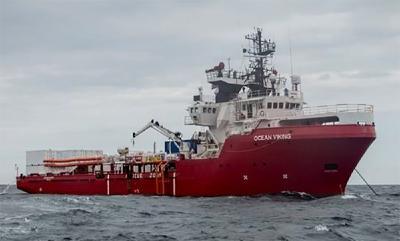Seenotrettungsschiff Ocean Viking