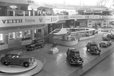 1951 Opel IAA Frankfurt