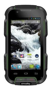 PX 3820 1 simvalley MOBILE Outdoor Smartphone SPT 900 V2  Android 4 4 IP68