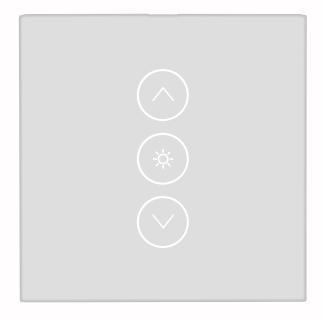NX 4504 01 Luminea Home Control Touch Lichtschalter und Dimmer LHC 101.dimm. Amazon Alexa und Google Assistant kompatibel