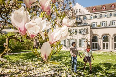 Konstanz Inselhotel Garten, Bildnachweis: MTK Dagmar Schwelle