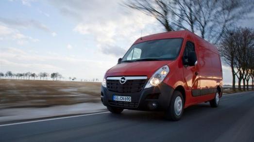 Opel Movano. Jetzt noch wirtschaftlicher, kraftvoller und komfortabler