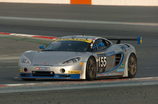 Team rhino's Leipert left an ace impression at the 24h Dubai race