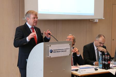Martin Sättele, Vizepräsident der Handwerkskammer Mannheim Rhein-Neckar-Odenwald