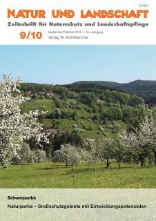 """Cover """"Natur und Landschaft"""""""