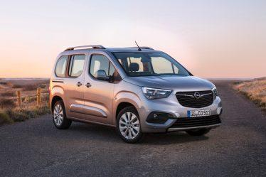 Tough character: The side-view of the new Opel Combo Life features protective flank guards and prominent wheelarches.