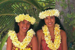 Tahiti Mädchen