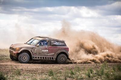2017 Hungarian Baja, Conrad Rautenbach (ZWE), Filipe Palmeiro (POR), MINI ALL4 Racing, #23 - X-raid Team - 13.08.2017