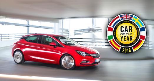 Auto des Jahres 2016: Der erfolgreiche Opel Astra