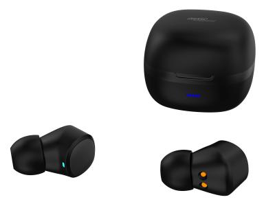 auvisio In-Ear-Stereo-Headset IHS-670 mit Bluetooth 5 und Ladebox, 6 Std. Laufzeit