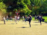 Sport im Park Aachen startet am 1. Juni, Capoeira ist mit dabei!
